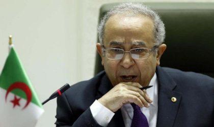 Ramtane Lamamra à RFI : «Nous n'avons pas droit à l'erreur»