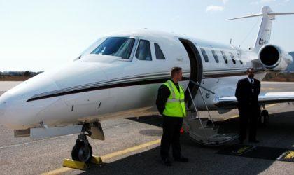 Les avions privés algériens interdits de décoller