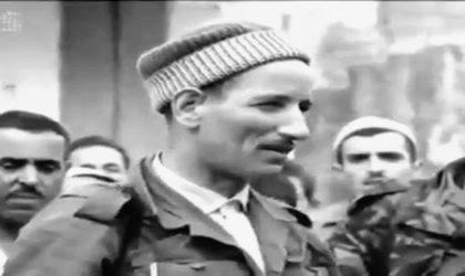 Slimane Dehilès lors de l'été de la discorde en 1962