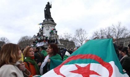La diaspora algérienne en France manifeste contre le système