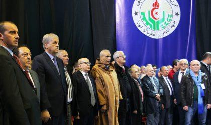 Reprise des travaux du comité central du FLN