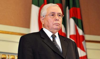 Le Parlement prend acte de la vacance du poste du président de la République, Bensalah président