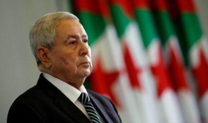 Bensalah maintient le cap sur l'élection présidentielle du 4 juillet