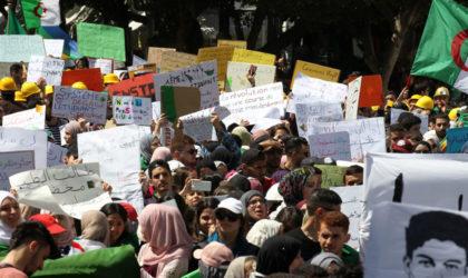 D'imposantes marches des étudiants à Alger et dans plusieurs wilayas