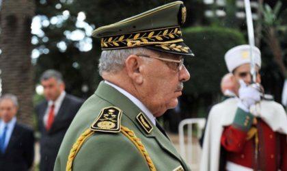 Le général Gaïd-Salah opère une purge dans les services de renseignement