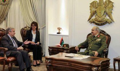 Libye : offensive des troupes de Haftar pour avancer vers Tripoli