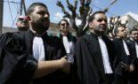 Marche pacifique des avocats à Béjaïa