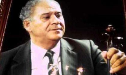 Centre culturel algérien de Paris: hommage à Mohamed-Tahar Fergani
