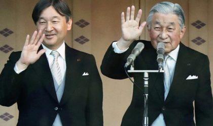 L'empereur du Japon abdique au profit de son fils aîné Naruhito