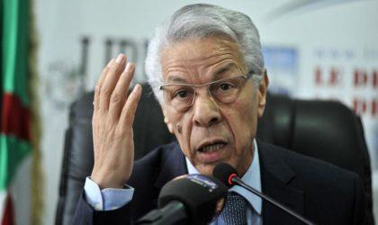 Selon des indiscrétions : l'option Hamrouche n'est pas totalement écartée