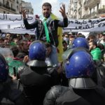 Manifestation des étudiants à Alger