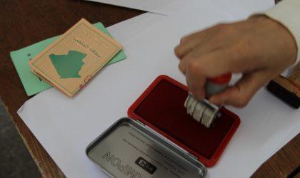 Révision exceptionnelle des listes électorales du 16 au 23 avril 2019