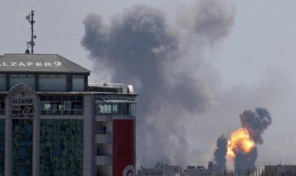 Agression israélienne contre Ghaza : au moins 13 morts et plus de 90 blessés