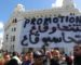 Les étudiants manifestent devant la Grande-Poste à Alger