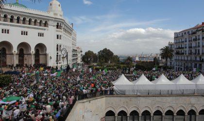 13evendredi de manifestation: les Algériens investissent massivement la rue