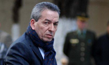 Benyounès dément toute implication dans «un complot contre l'Algérie»