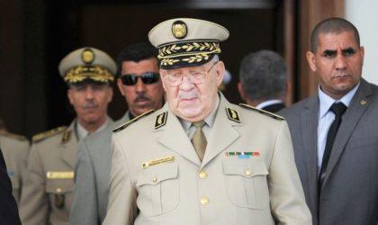 Le chef d'état-major lève le doute: «Je n'ai aucune ambition politique»