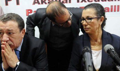 Le Parti des travailleurs dénonce des «attaques visant à le déstabiliser»