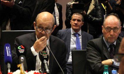 Qu'a dit Le Drian à Boukadoum au siège des Nations unies à New York ?