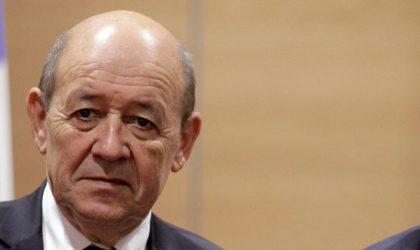 L'omission de Le Drian qui jette le doute sur les desseins de la France en Algérie