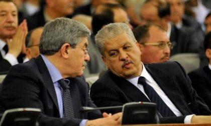 Les dossiers d'Ouyahia, Sellal, Benyounès et Ghoul remis à la Cour suprême