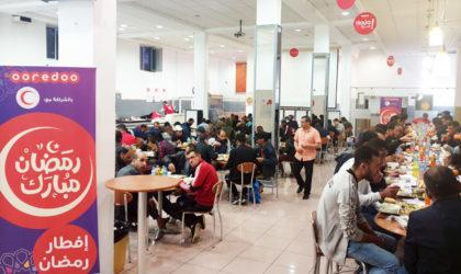 Ooredoo ouvre ses cantines pour des iftar tout au long du mois de Ramadhan