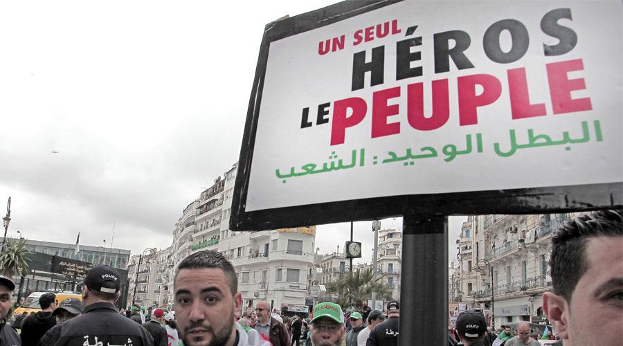 Manifestation Algériens