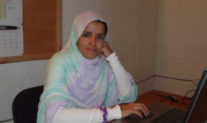 La militante sahraouie Minetu Larabas Sueidat reçue au Parlement italien