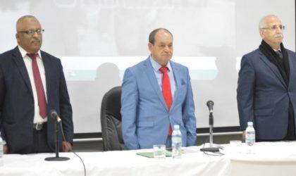 Bensalah limoge le président de l'Organe national de lutte contre la corruption