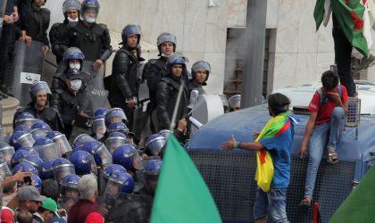 Les deux manifestants ayant poussé un policier passibles de dix ans de prison