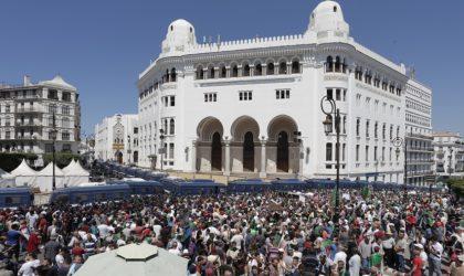 19e vendredi de marche : les Algériens ont défié le dispositif policier et la chaleur