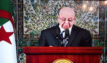 Le MPA et le RND encensent le discours de Bensalah