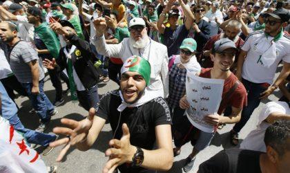 Les Algériens poursuivent leur combat pour le changement du système