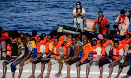 Immigration illégale : des filets en mer pour arrêter les embarcations