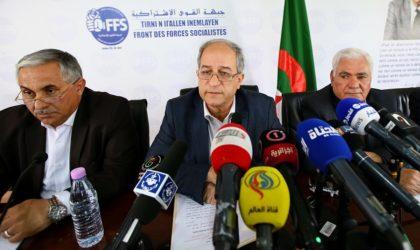 FFS : «Les injonctions de Gaïd-Salah donnent prétexte à des ingérences étrangères»