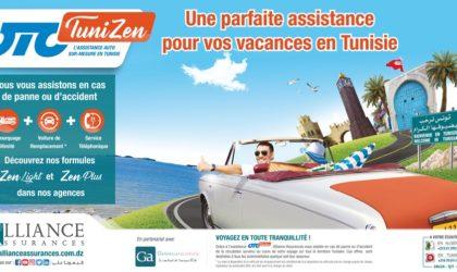 OTO Tunizen «l'assistance AUTOen Tunisie» d'Alliance Assurances