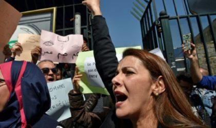 Nouveau sit-in des journalistes de la Télévision contre la censure