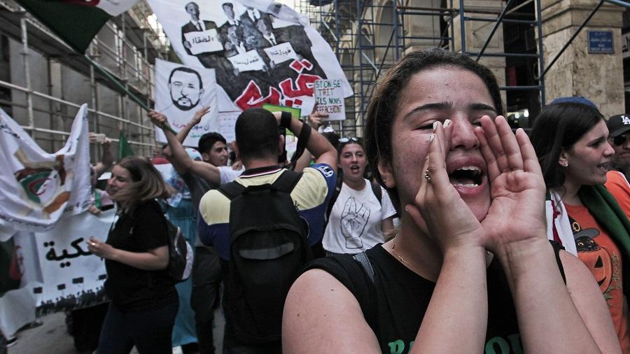 Marzouki hirak algérien