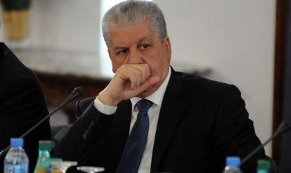 Abdelmalek Sellal rejoint Ouyahia à la prison d'El-Harrach