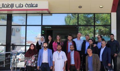 Solidarité: les employés de Condorrendent visite à des enfants malades à Bordj Bou Arréridj
