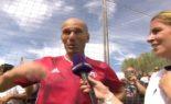 Zinedine Zidane affirme son soutien au mouvement populaire en Algérie