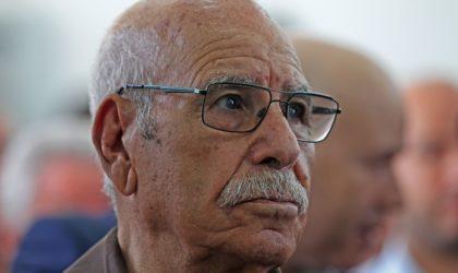 Le moudjahid Lakhdar Bouregâa au peuple : «Il faut accomplir la mission !»