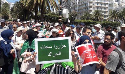 Marche imposante à Alger en ce 22evendredi