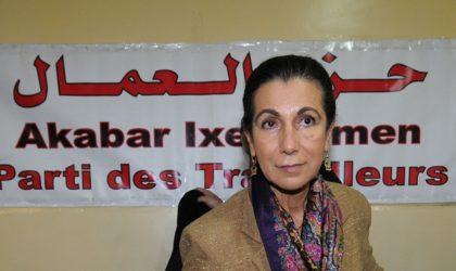Le PT et Louisa Hanoune  exigent «la libération de tous les détenus politiques»