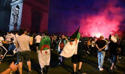 Un maire français célèbre la victoire avec les Algériens