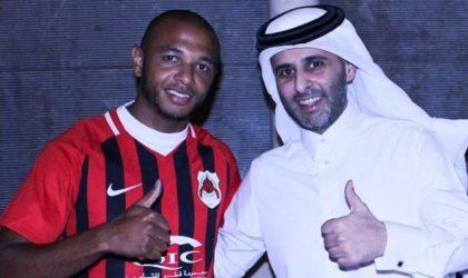 Yacine Brahimi signe trois ans au SC Al-Rayyan