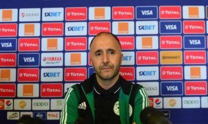 Belmadi : «Nous sommes prêts à 200% pour la finale»