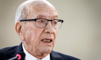 Essebsi visé par «l'article 102» : la Tunisie gagnée par le syndrome algérien