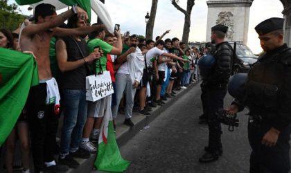 Des extrémistes appellent la police à tirer sur les supporters algériens