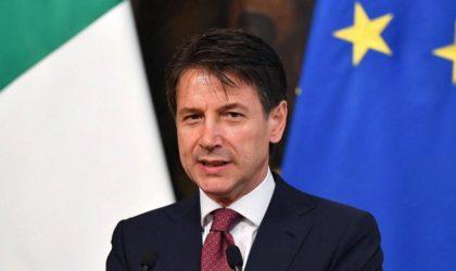 Giuseppe Conte : «L'Algérie est un partenaire clé de notre diplomatie»